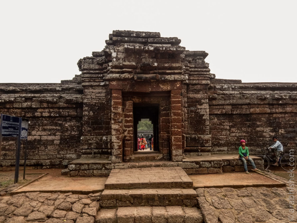 Entrance to Kurumbera Fort